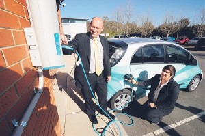 Electric Vehicles charge on in the ACT